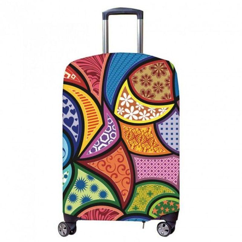 Чехол для чемодана Fancy Armor чехол для чемодана fancy armor travel suit eco лемонграсс размер m l 60 70 см