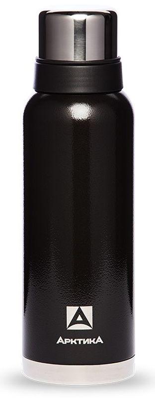 """Термос """"Арктика"""", с узким горлом, цвет: черный, 750 мл"""