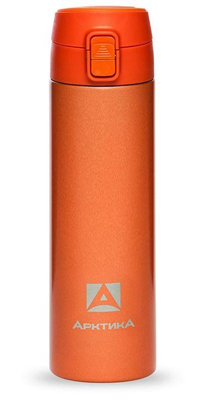 Термос-сититерм Арктика, вакуумный, цвет: оранжевый, 500 мл термос сититерм арктика вакуумный цвет оранжевый 350 мл