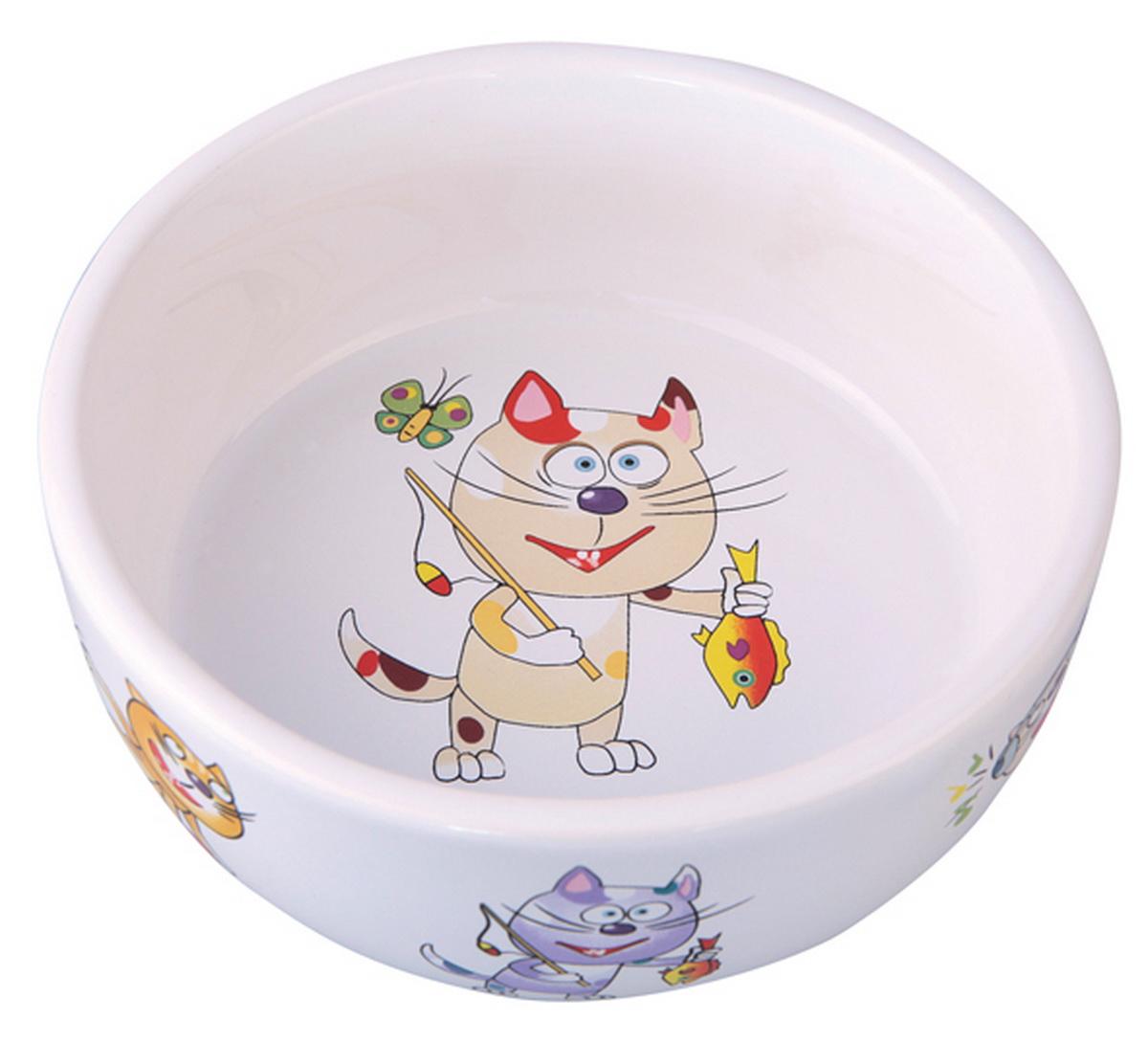 """Миска для кошек Dezzie """"Улов"""", 300 мл"""