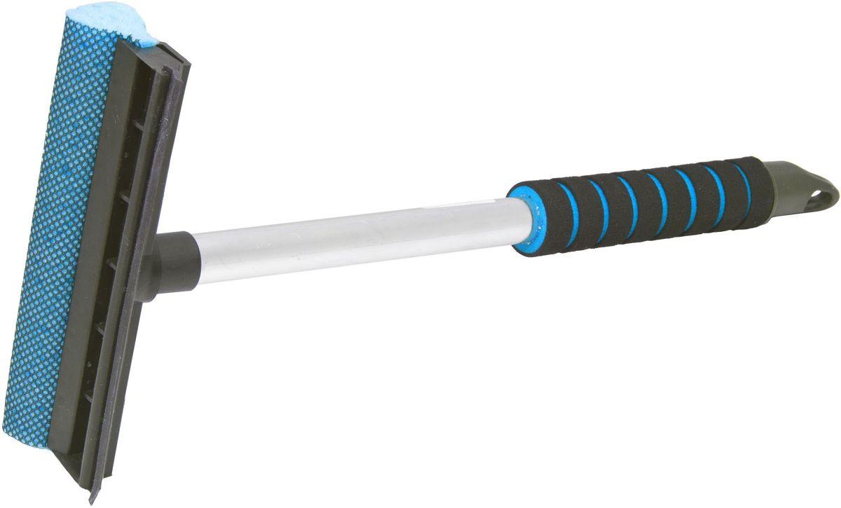 Водосгон Главдор GL-566, на алюминиевой ручке, длина: 43 см, цвет: голубой цена