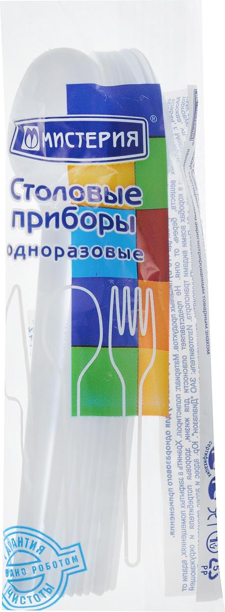 """Набор одноразовых чайных ложек """"Мистерия"""", 12 шт"""