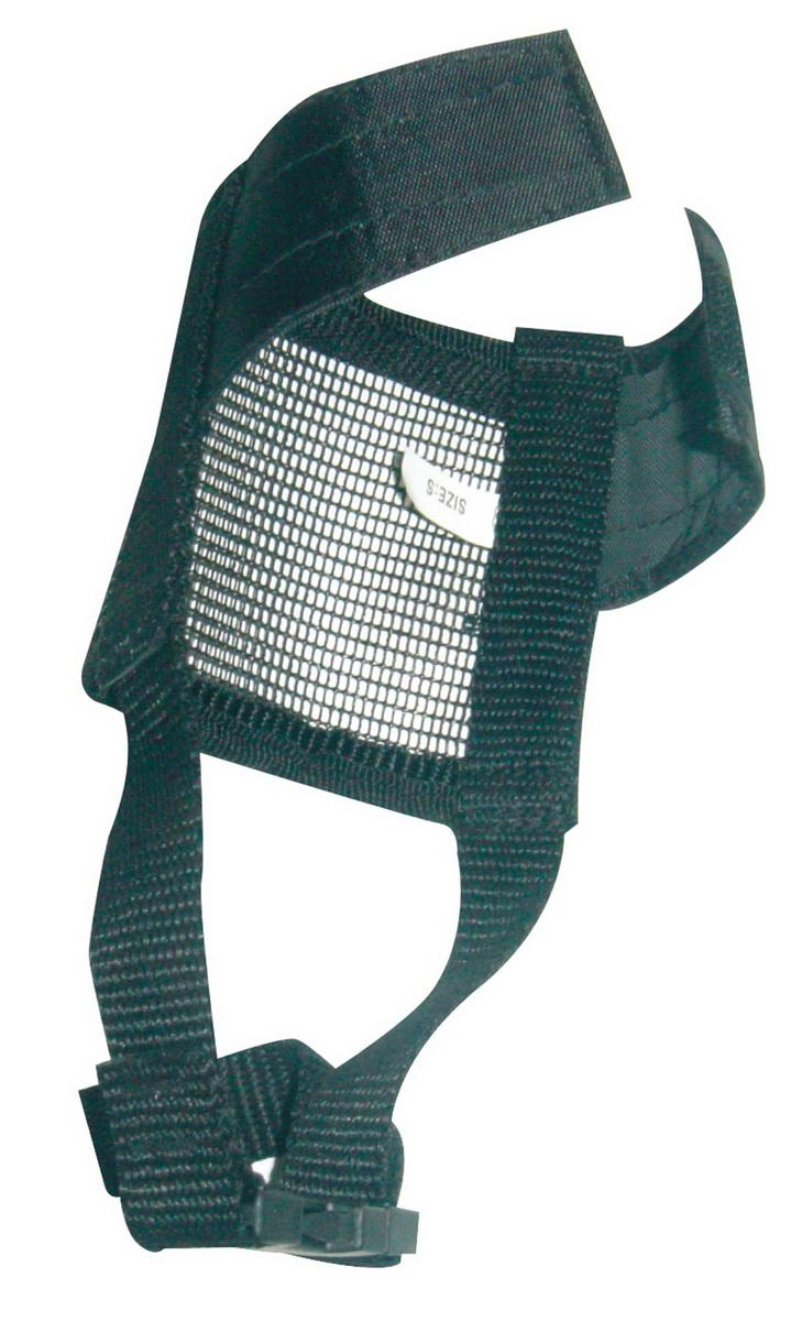 Намордник для собак Dezzie, с застежкой велкро, размер XL комбинезон для собак dezzie бультерьер мальчик болонья