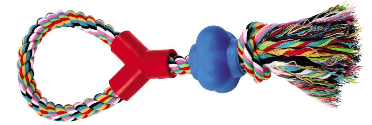 """Игрушка для собак Dezzie """"Веревка №8"""", длина 33 см"""