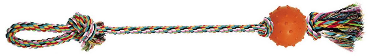 Игрушка для собак Dezzie Веревка №6, длина 60 см игрушка для собак triol веревка 4 сосиски длина 63 см
