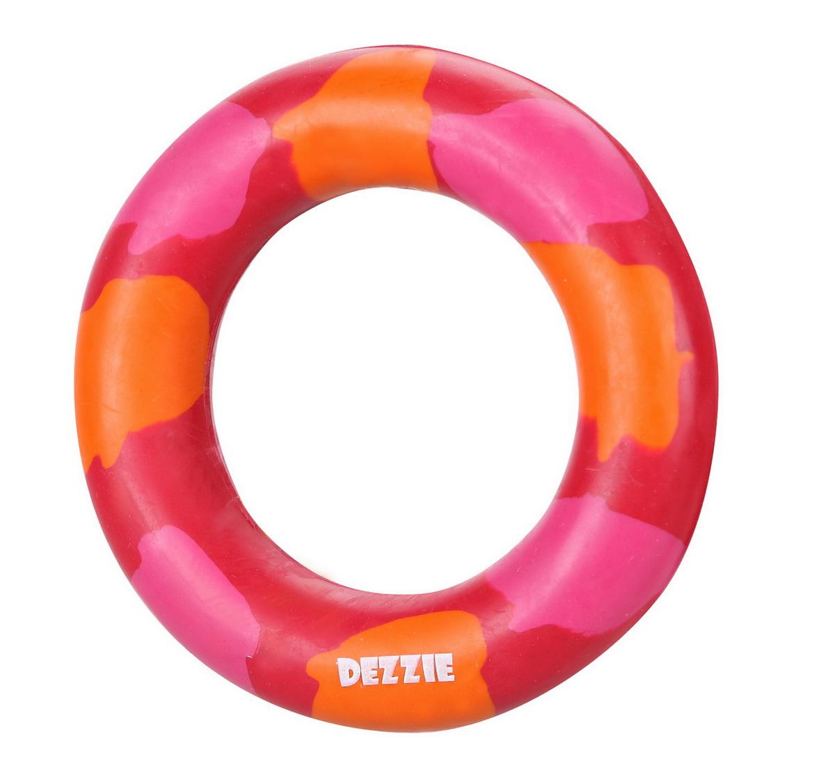 """Игрушка для собак Dezzie """"Кольцо"""", с запахом мяса, диаметр 8,5 см"""