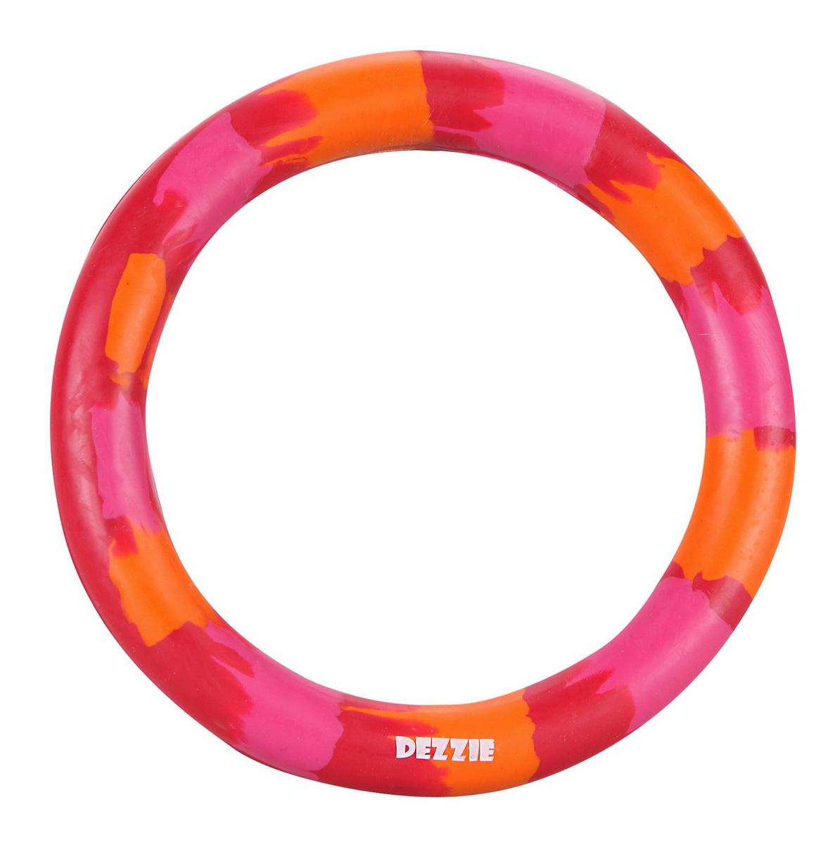 """Игрушка для собак Dezzie """"Кольцо"""", со вкусом мяса, диаметр 16 см"""