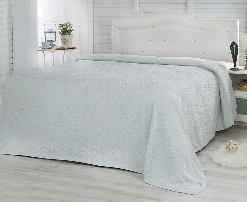 Простыня махровая Karna Esra, цвет: мятный, 160 x 220 см простыня махровая fiera di venezia 200х220