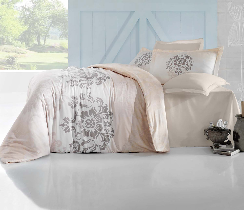 Комплект белья Altinbasak Ilma, 2-спальный, наволочки 50х70 комплект белья togas терра 2 спальный наволочки 50 x 70 цвет зеленый 30 07 99 0055