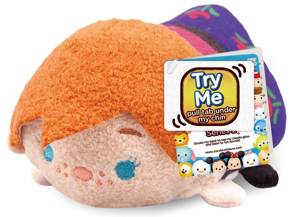 Tsum Tsum Мягкая озвученная игрушка Анна 13 см цена
