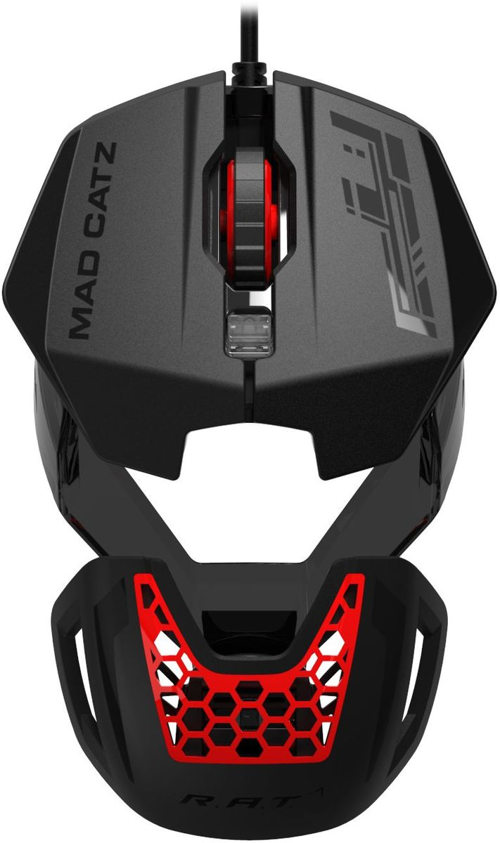 Игровая мышь Mad Catz R.A.T.1, Black Red цена и фото