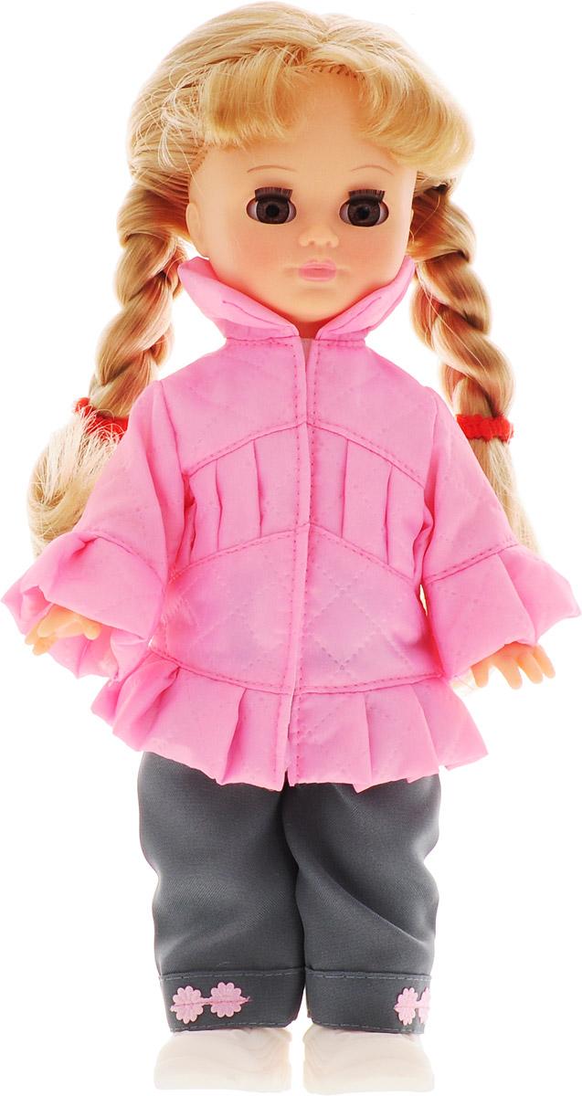 Весна Кукла озвученная Олеся цвет одежды розовый серый