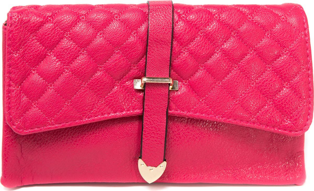 Клатч женский Mitya Veselkov, цвет: розовый. LADYBAG3-23 цена и фото