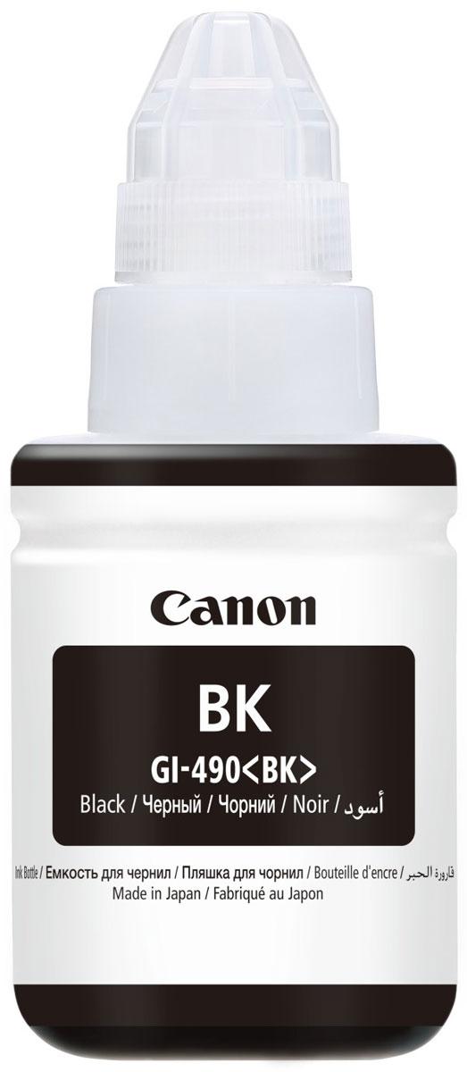 Canon GI-490, Black чернила для Pixma G1400/G2400/G3400