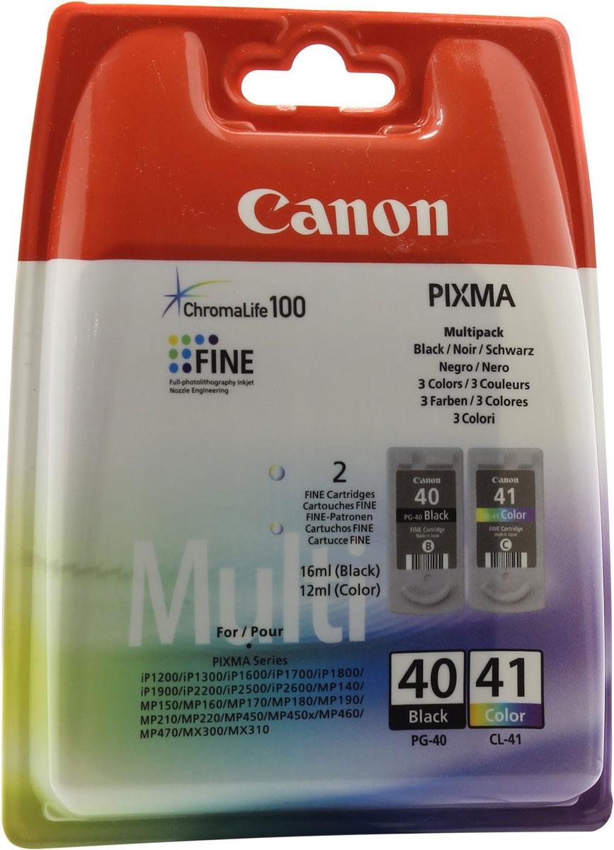 Картридж Canon PG-40/CL-41, для струйного принтера, оригинал