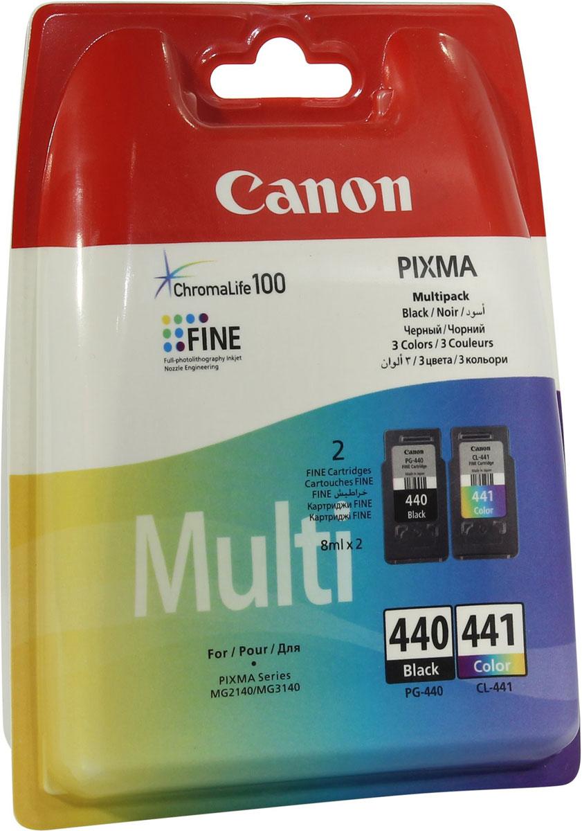 Картридж Canon PG-440/CL-441, для струйного принтера, оригинал