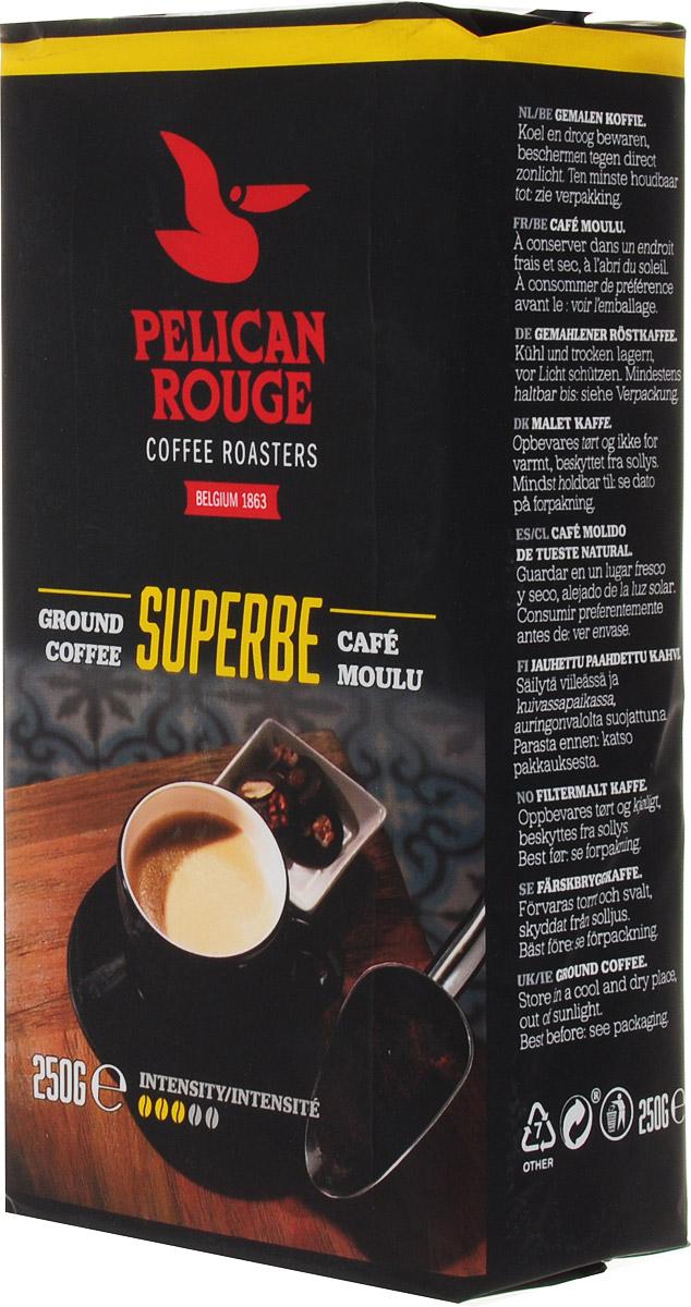 Pelican Rouge Superbe кофе молотый, 250 г5410958119009Молотый кофе Pelican Rouge Superbe - отлично сбалансированная темно обжаренная смесь. 80% Арабики и нотки лучших зерен Робусты придают этому кофе мягкое тело и послевкусие, напоминающее сливочную карамель. Хорошо подходит для приготовления фильтр-кофе. Кофе: мифы и факты. Статья OZON Гид