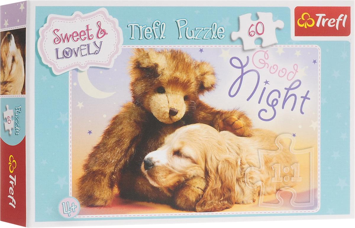 Trefl Пазл для малышей Сладкие и прекрасные Спокойной ночи trefl классические пазлы для малышей дикие животные 1 от 2 лет