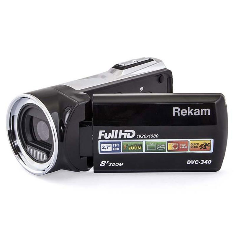 Фото - Видеокамера Rekam DVC-340, Black видео