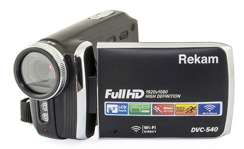 Видеокамера Rekam DVC-540, Black