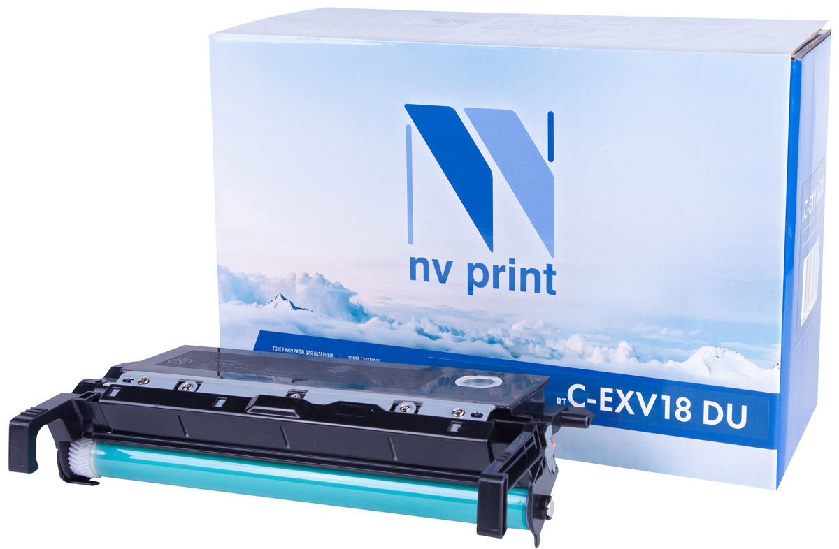 NV Print CEXV18DU, Black фотобарабан для Canon IR1018/1022