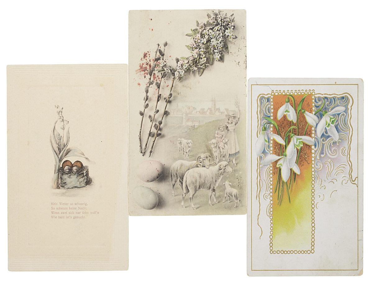 Изоиздания открытки, днем