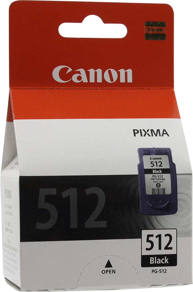 Canon PG-512BK, Black картридж для струйных МФУ/принтеров canon pg 510bk black картридж для струйных мфу принтеров