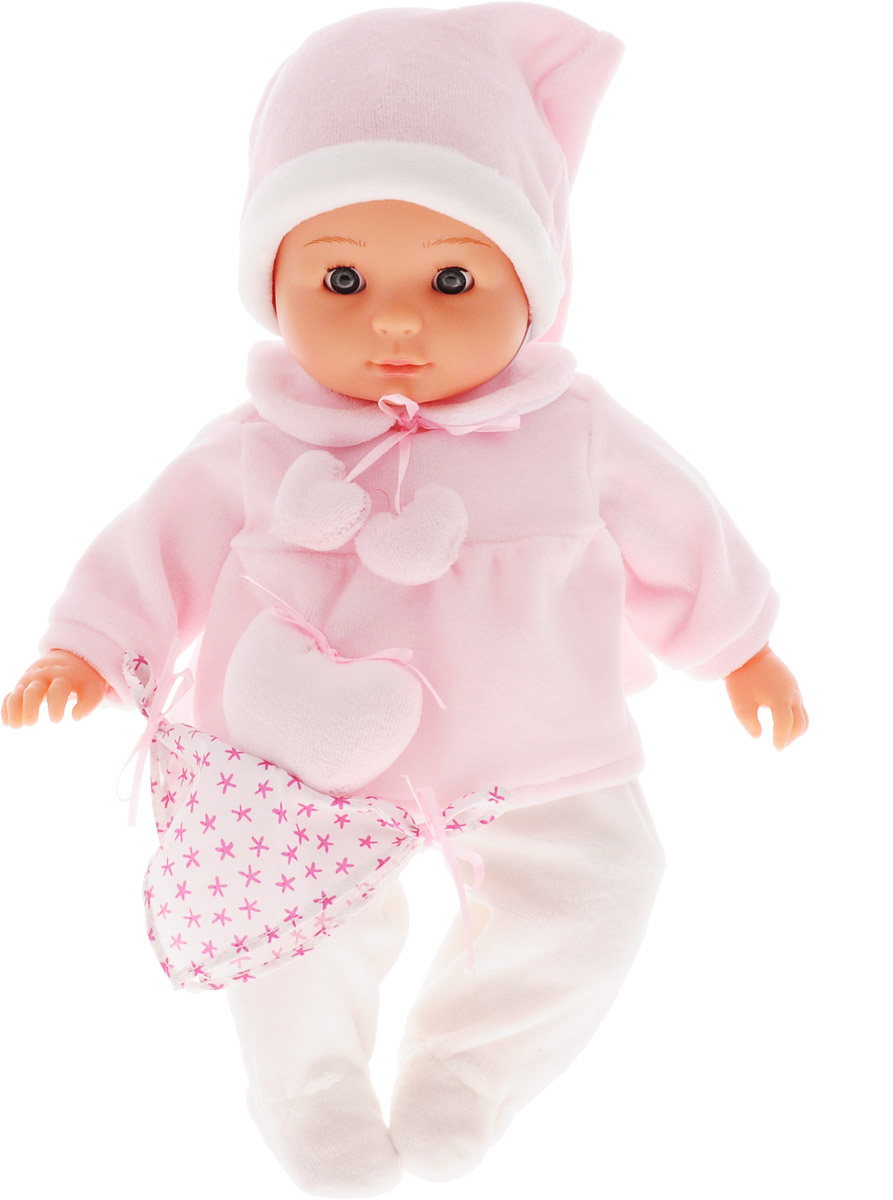 Bambolina Пупс Boutique цвет одежды розовый белый