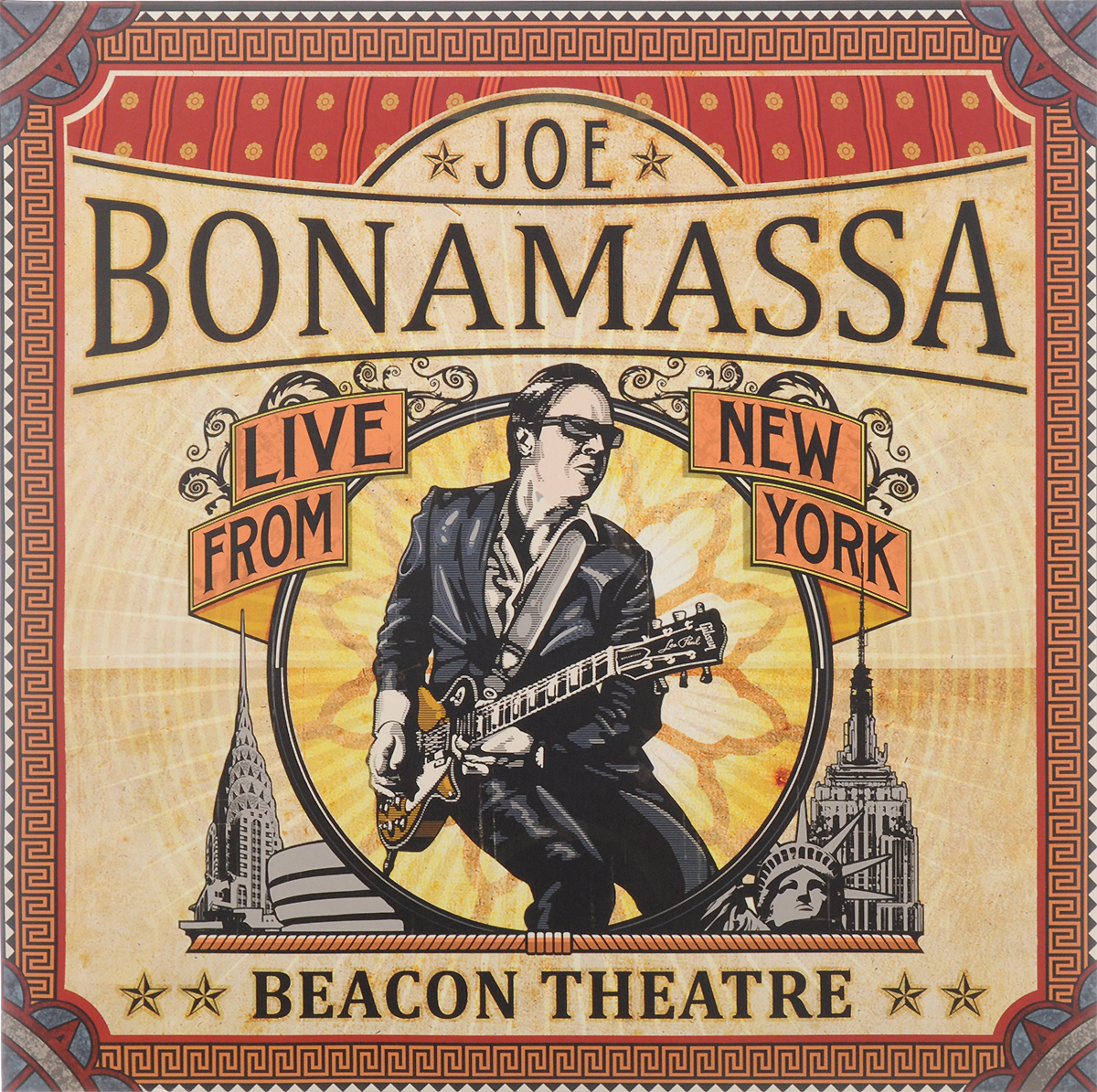 Джо Бонамасса Joe Bonamassa. Beacon Theatre. Live From New York (2 LP) цена и фото