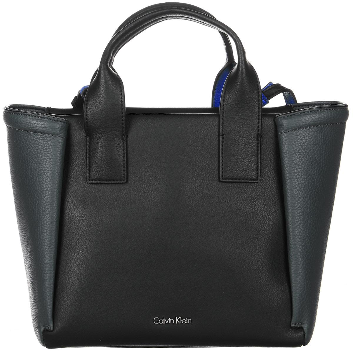 cde78b7701fc Сумка женская Calvin Klein Jeans, цвет: черный. K60K602482_0010 — купить в  интернет-магазине OZON.ru с быстрой доставкой
