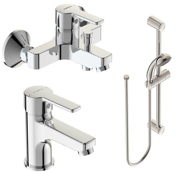 """Набор для ванной Vidima """"Уно"""", 3 предмета"""