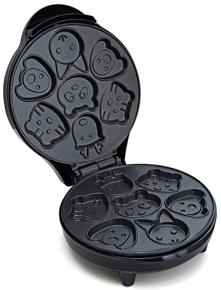 все цены на Вафельница Kitfort КТ-1619, для детских вафель онлайн