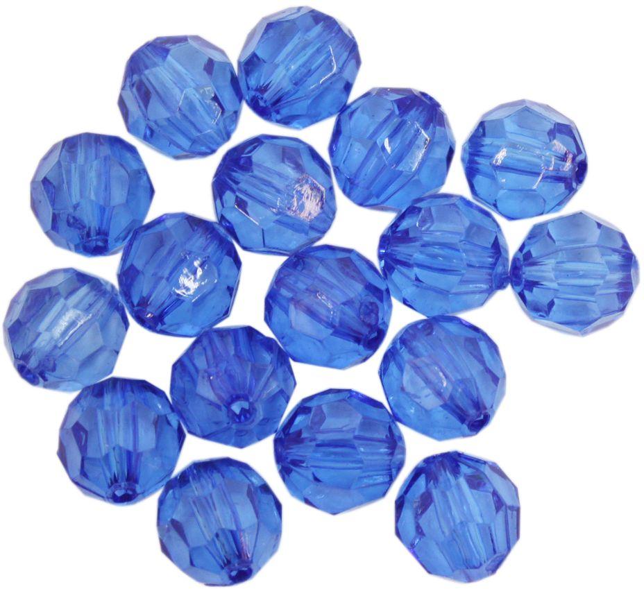 Бусины Астра, цвет: синий, 10 мм, 25 г. 684977_30 цена