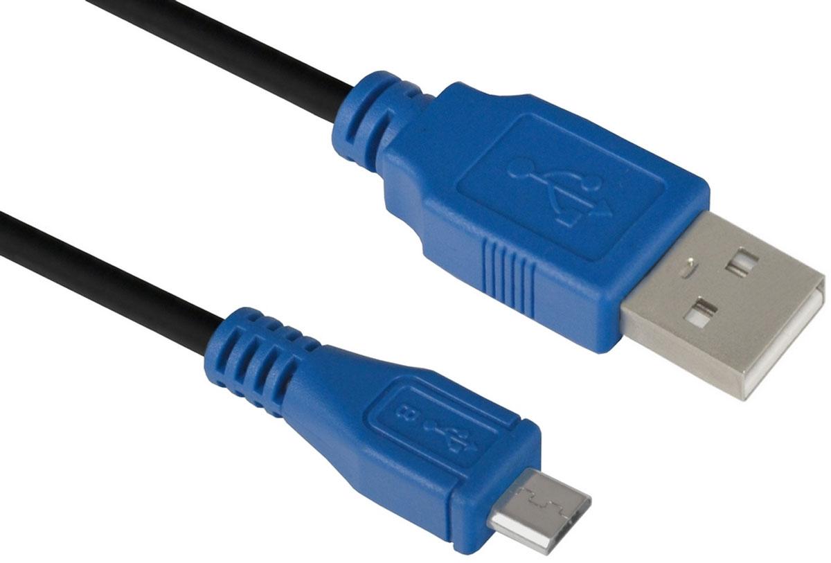 Greenconnect GCR-UA5MCB1-BB2S кабель microUSB-USB (0,75 м) greenconnect gcr ua11mcb6 bb2s g кабель microusb usb 0 75 м