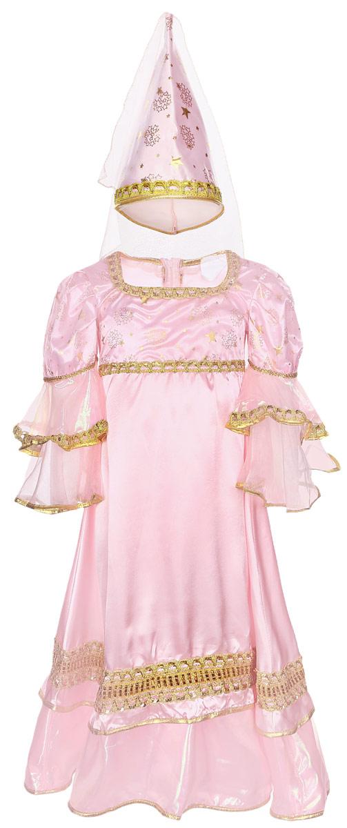 Карнавалия Карнавальный костюм для девочки Розовая фея размер 36