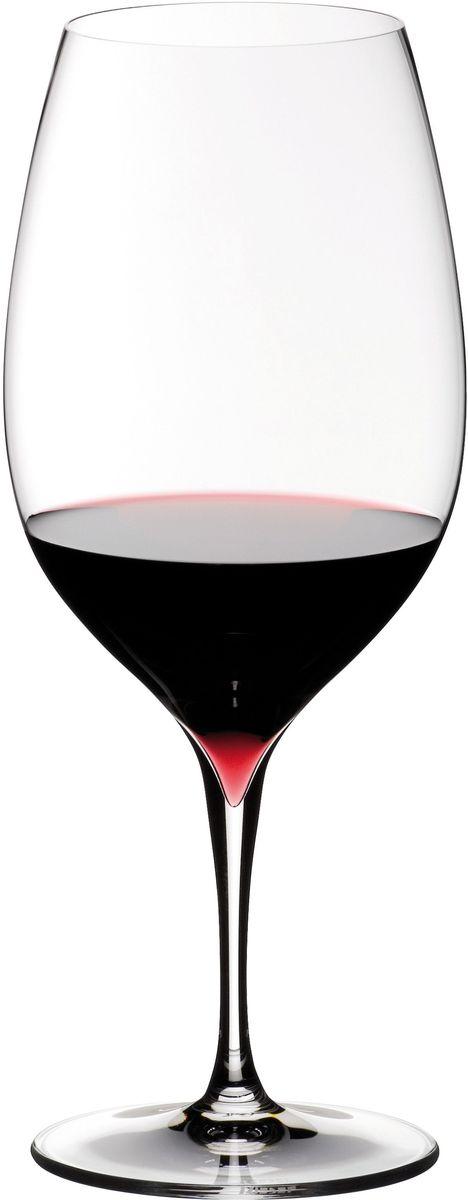 Набор фужеров для красного вина Riedel Grape. Syrah. Shiraz, цвет: прозрачный, 780 мл, 2 шт набор фужеров riedel h2o whisky стекло 430 мл 2 шт в подарочной упаковке