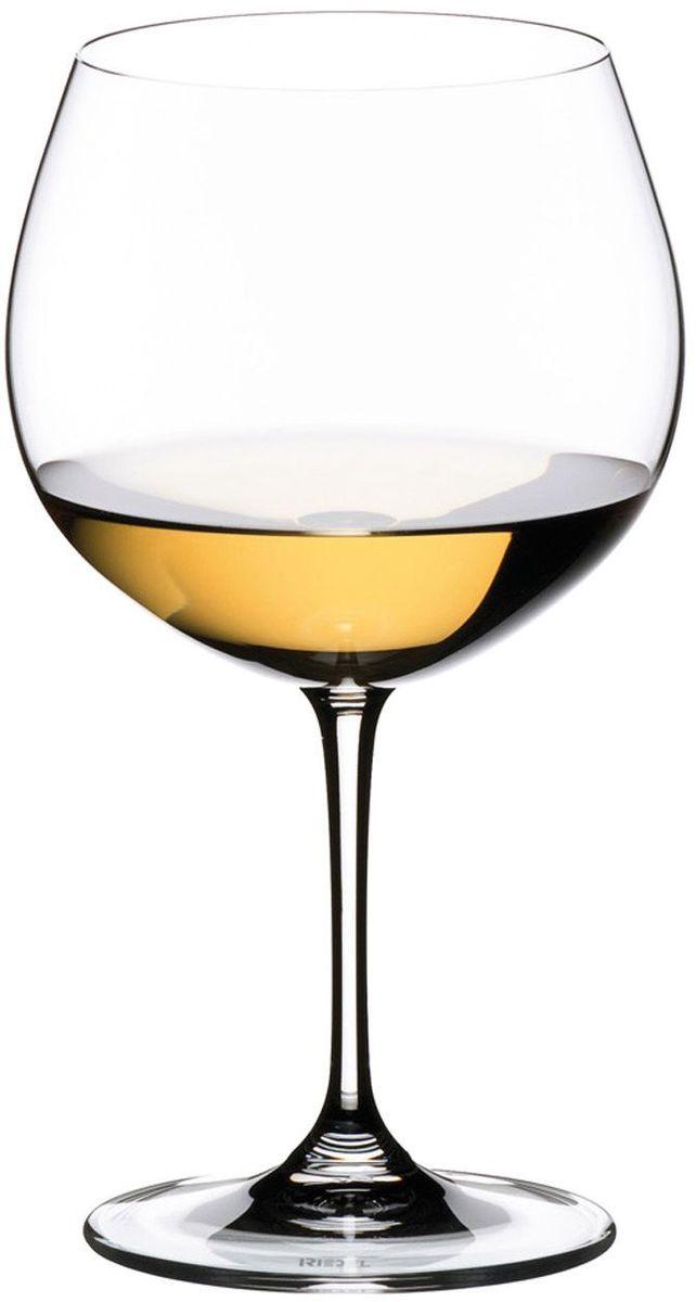 Набор фужеров для белого вина Riedel Vinum. Montrachet. Chardonnay, цвет: прозрачный, 600 мл, 2 шт набор фужеров riedel h2o whisky стекло 430 мл 2 шт в подарочной упаковке