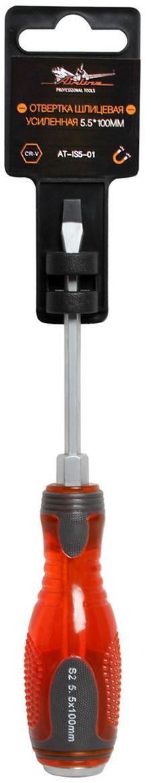 Отвертка шлицевая Airline, усиленная под ключ, 5,5 х 100 мм отвертки ермак отвертка под ключ