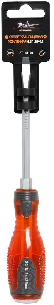 Отвертка шлицевая Airline, усиленная под ключ, 6,5 х 125 мм отвертки ермак отвертка под ключ