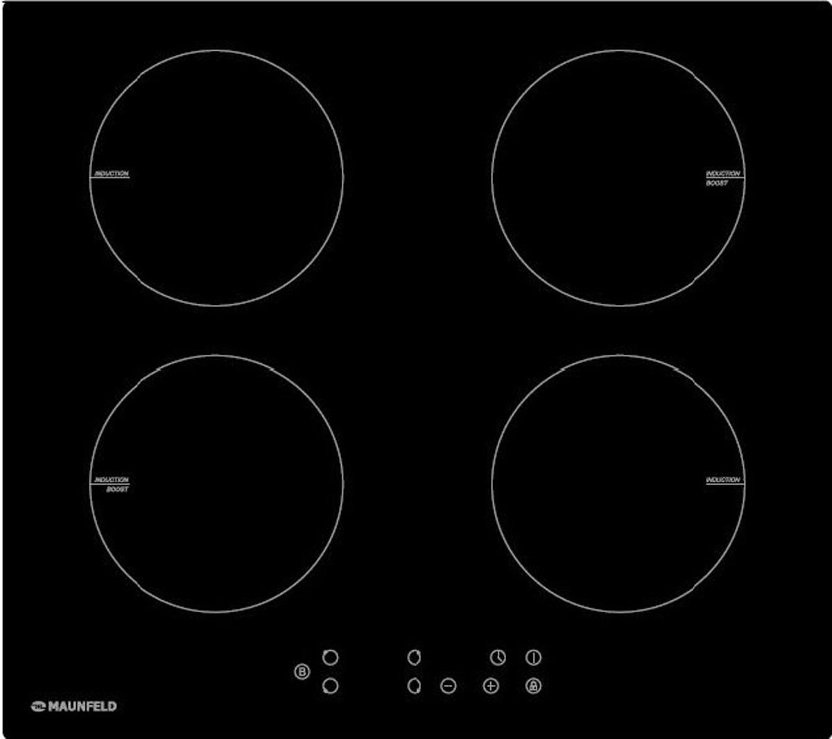 Индукционная панель Maunfeld EVI. 594-BK черный Индукционная варочная поверхность - современные технологии позволяют...