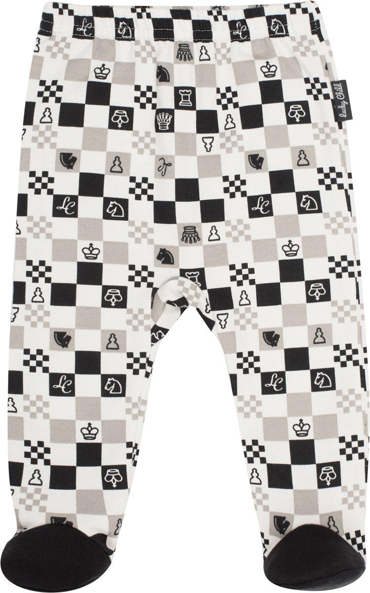 Ползунки Lucky Child Шахматный турнир боди для девочки lucky child шахматный турнир цвет молочный темно серый 29 19д размер 74 80