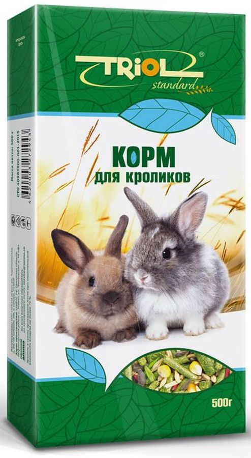 "Корм для кроликов Тriol ""Standard"", 500 г"