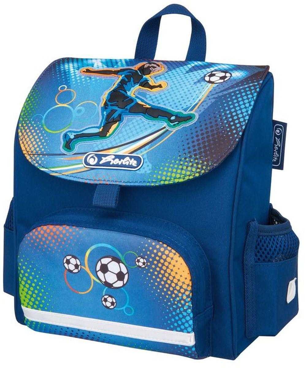 Herlitz Ранец дошкольный Mini Softbag Soccer magic tree house fact tracker 29 soccer