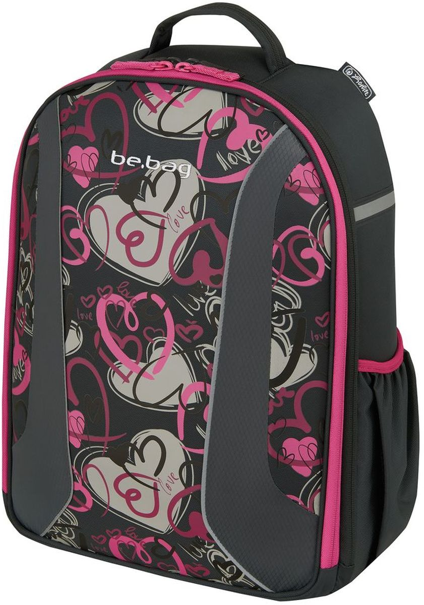 Herlitz Рюкзак школьный Be.Bag Airgo Hearts herlitz рюкзак bliss pink hearts