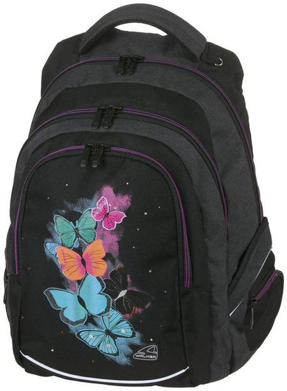 Walker Рюкзак школьный для девочки Fame Butterrfly цена и фото