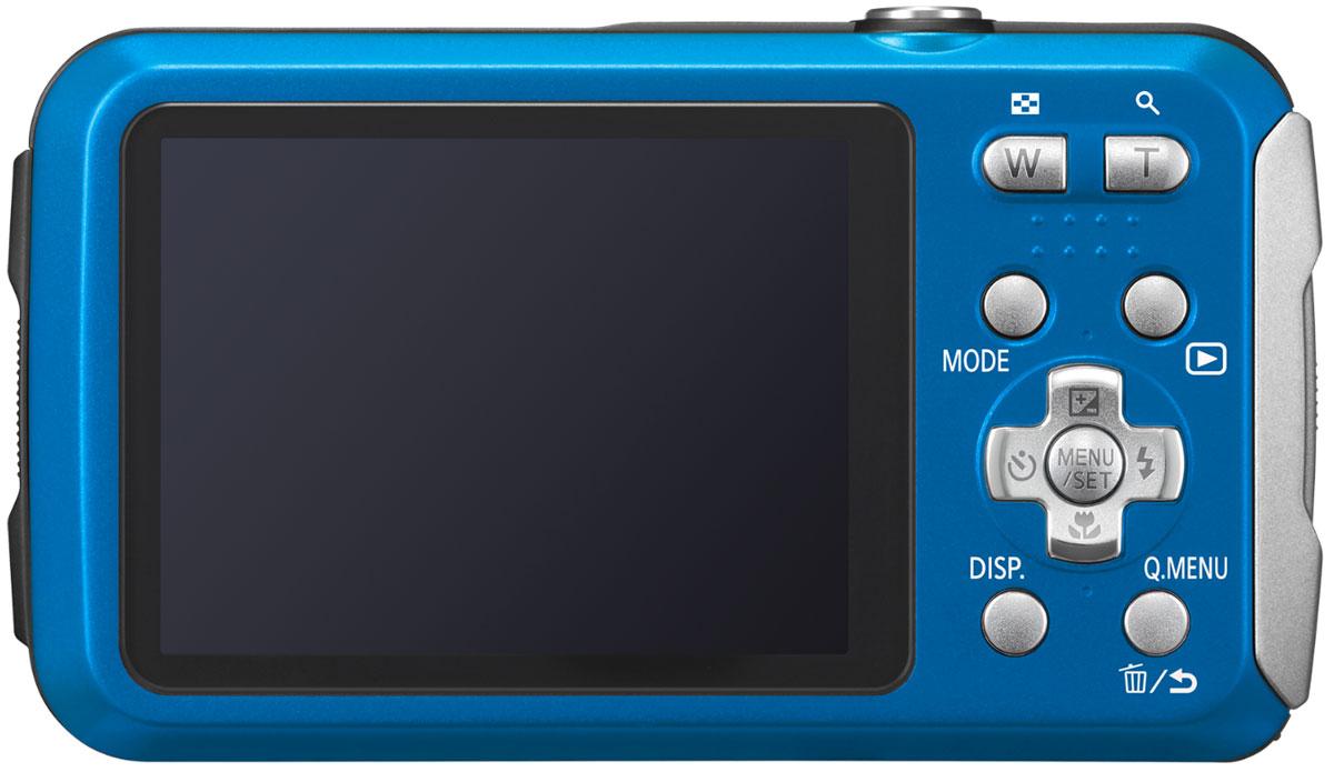 Компактный фотоаппарат Panasonic Lumix DMC-FT30, Blue Panasonic