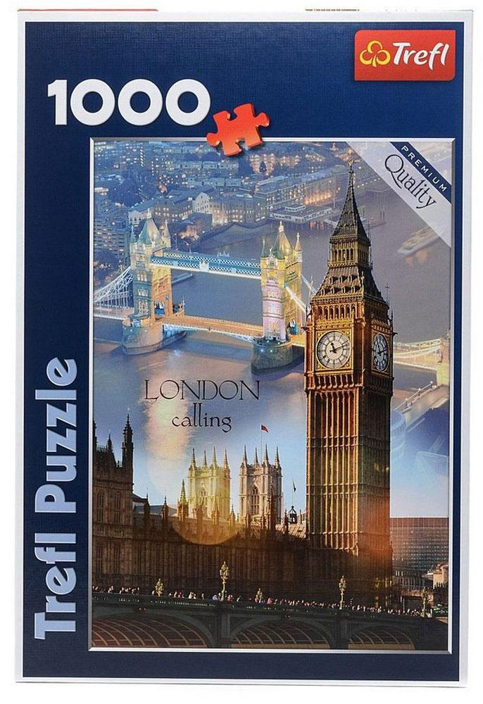 Trefl Пазл Лондон на рассвете trefl пазл лондон на рассвете trefl 1000 деталей