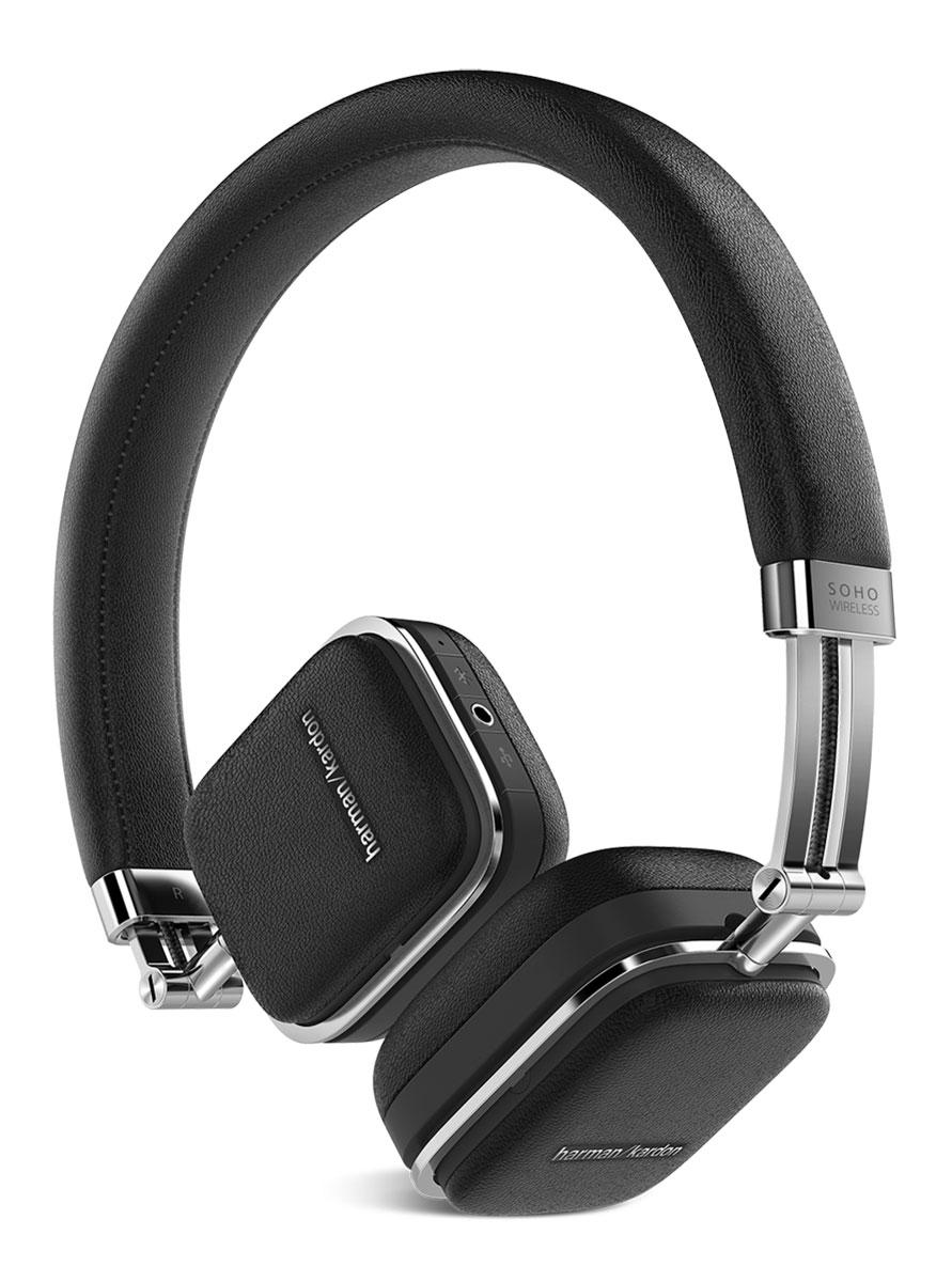 Беспроводные наушники Harman Kardon Soho Wireless, черный наушники harman kardon soho wireless brown