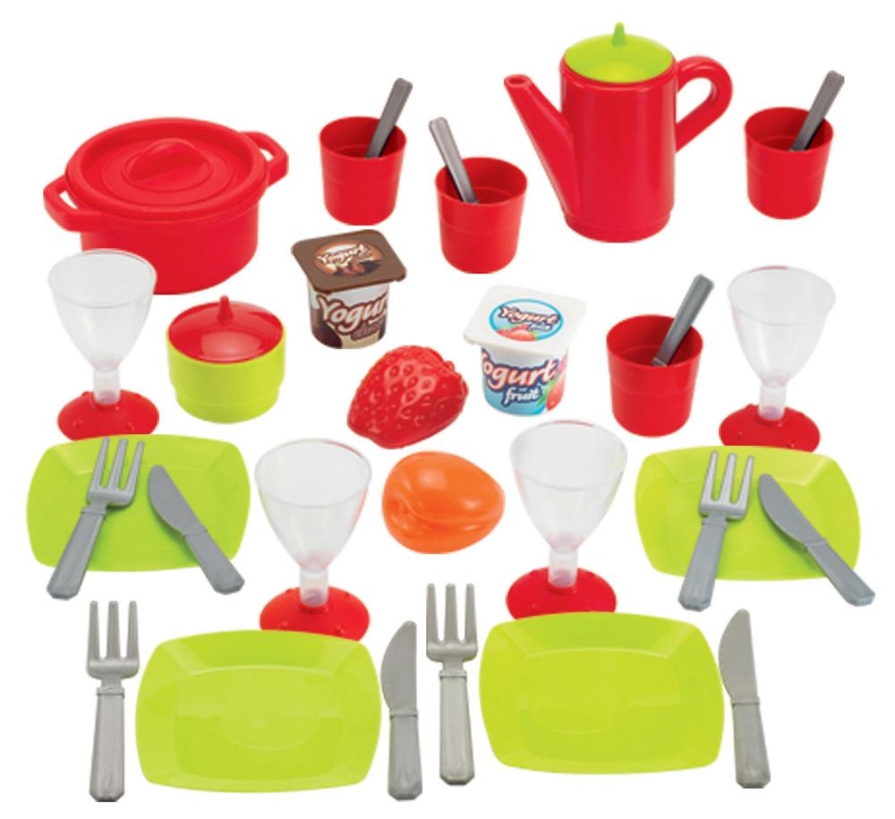 Ecoiffier Набор игрушечной посуды 36 предметов игра ecoiffier chef набор посуды с сушилкой 2619