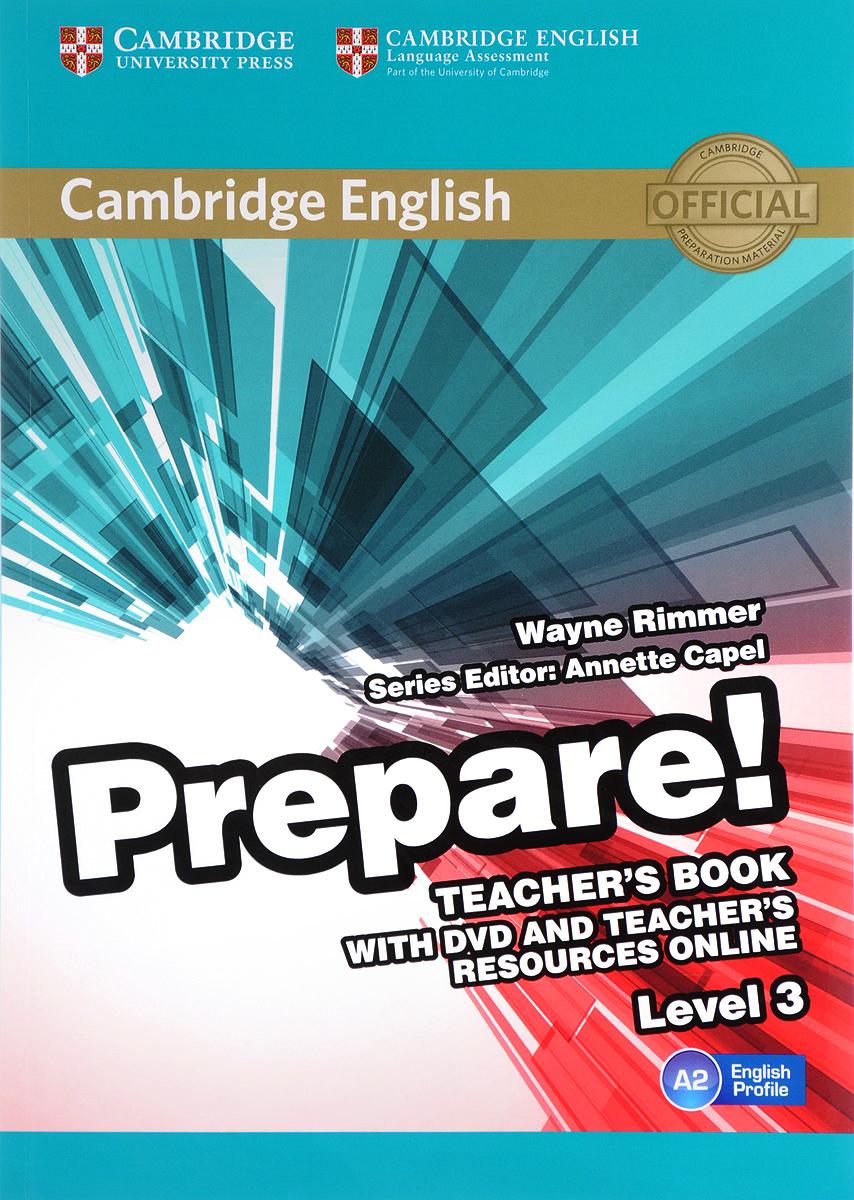 Cambridge English Prepare! Level 3 A2: Teacher's Book (+ DVD)